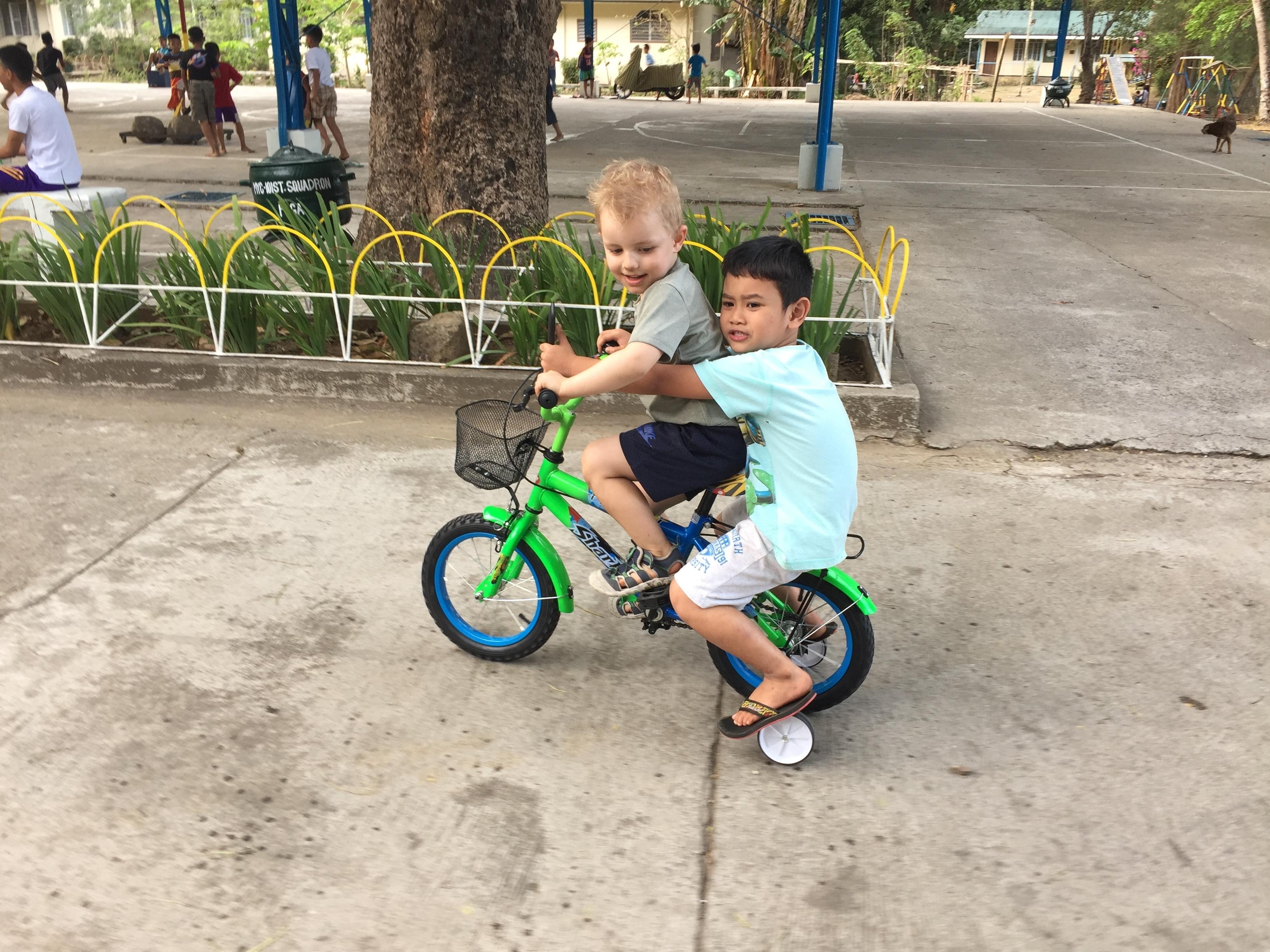 Cykelleg